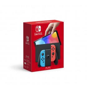 Nintendo Switch OLED - Neon Rojo y Azul